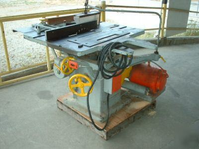 New Tan Itz 16 Industrial Table Saw
