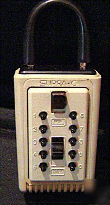 Pushbutton Combination Key Box Supra C3