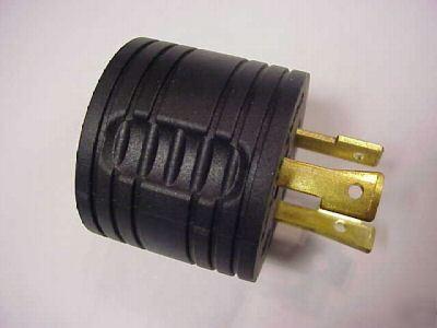 Yamaha 3000 Generator >> Rv 30 amp honda generator plug adaptor for EU3000IS