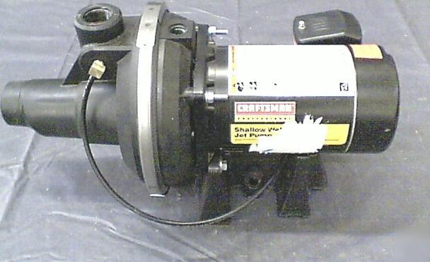 Craftsman 1 2 Hp Hydro Glass Shallow Well Jet Pump 2514