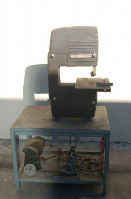 Xlt Vintage Craftsman Vertical Sears Bandsaw W Reducer