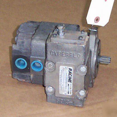 New Racine Hydraulic Piston Pump 10 Gpm 2000 Psi Pvp