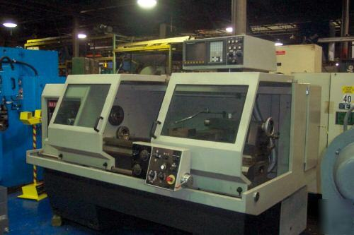 Nardini cnc/manual logic 220 g lathe/FANUCTA20 ez path