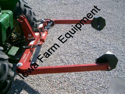 Ife 3pt round hay bale unroller best quality amp price