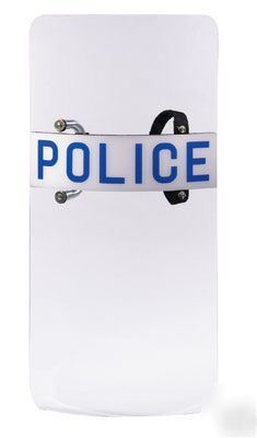 Airsoft / paintball ref anti - riot police shield