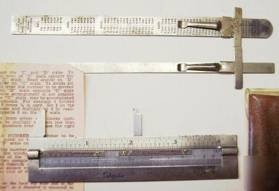 Stainless steel caliputer vernier scale caliper & ruler