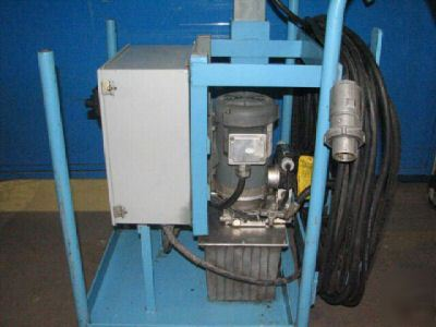 Marathon electric hydraulic power pack 3 phase 1HP