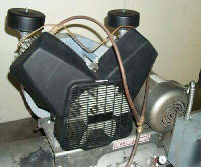 Powerex Model Opt050 5hp Oil Less Air Compressor