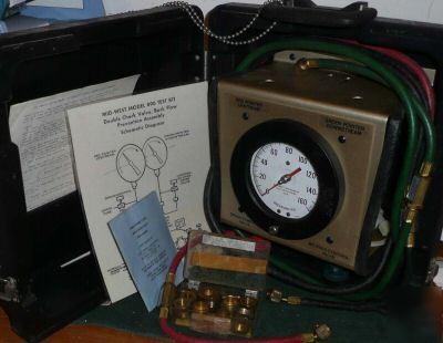 Backflow test kit mid-west midwest 890 830 back flow