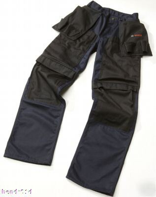 Bosch mens work trousers + holsters workwear 32