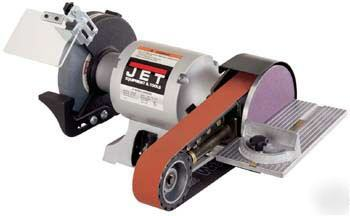 Jet 6 Quot Bench Grinder With Multitool Belt Finishing Tool