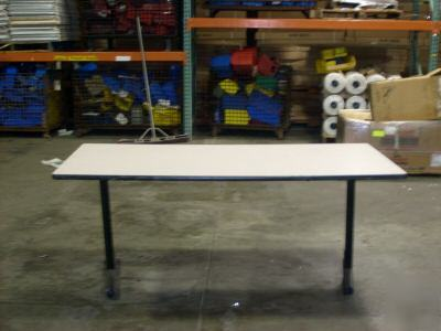 Cafeteria classroom crafts work folding table