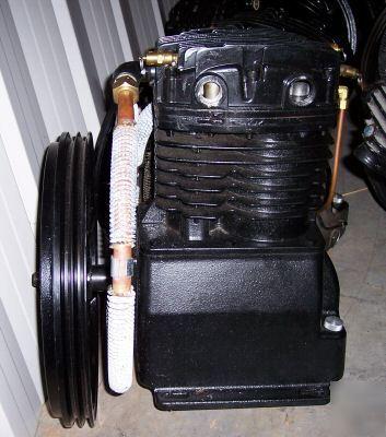 7 5 Hp Big 2 Stage Cast Iron Air Compressor Pump