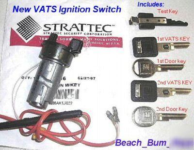 vats ignition switch cadillac eldorado 89 - 93 94 95 96 on 68 camaro  ignition switch