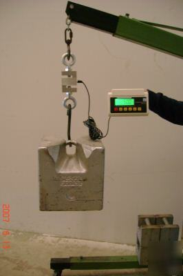 Fishing scale tournament scale hanging scale 1000lbs for Tournament fish weighing scales