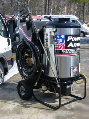 220v Power America Hot Cold Water Pressure Washer