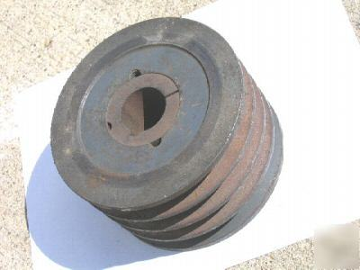 5 Motor Pully Sheave V 4 Belt Pulley Dodge Taper Lock