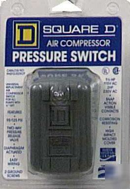 Ac Pressure Switch >> Square-d electric air compressor pressure switch