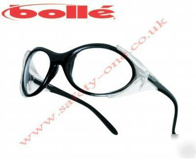 Bolle boa clear lens cycling / safety glasses
