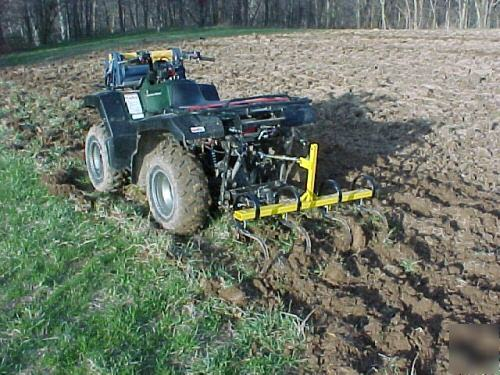 Cultivator Category 0 : S tine plow cultivator for cat pt hitch atv