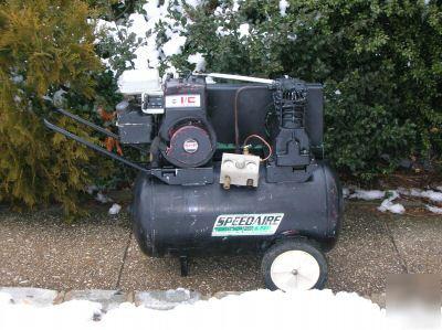 5 h p speedaire by dayton gas air compressor for Dayton air compressor motor