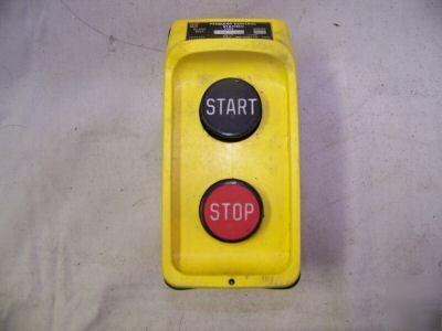 Square d pendant control station start stop hoist aloadofball Choice Image